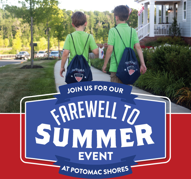 Join us for our Farewell to Summer event!